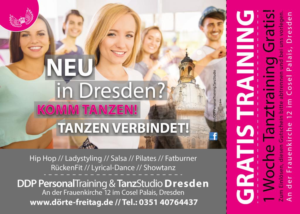 DDP Tanzstudio Gutschein