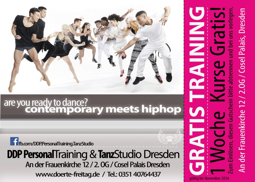 DDP Dörte Freitag contemporary-meets-hiphop-gutschein-flyer
